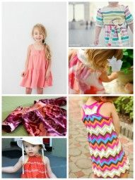 Cute girls sewing patterns! If you love making things for kids and baby, check out http://www.sewinlove.com.au/category/kids/
