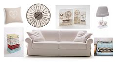 For all our #shabbychic style lovers, some suggestions to achieve a #romantic effect and an appearance of #antique. The sofa bed is our Richard, design Bob Dillon. www.milanobedding.it