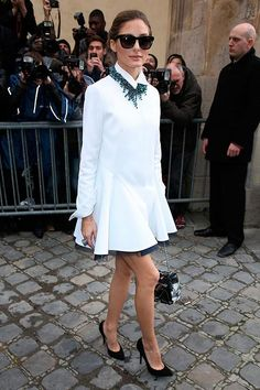 11 Ways Olivia Palermo Wears All-White Outfits