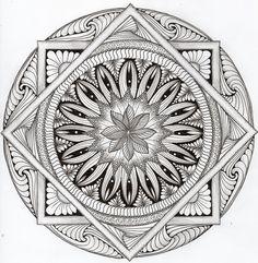 Calabash bazaar mandala art, doodle art, zen doodle, ink art, zentangle p. Mandala Art, Mandalas Painting, Mandalas Drawing, Mandala Coloring Pages, Coloring Book Pages, Doodles Zentangles, Zentangle Patterns, Zen Doodle, Doodle Art