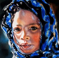 """Acceptance"" - Original Fine Art for Sale - © by Crystal  Cook"