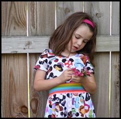 Stitch Upon a Time Stitch Upon A Time, Crop Shirt, Mommy And Me, Little Girls, Girl Outfits, Pdf, Pockets, Sleeve, Pattern