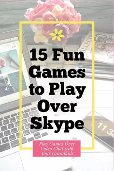 15 Fun Games to Play Over Skype (or other video chat) – Adventures in NanaLand - Long Distance Grandparents - Do you use technology to stay in touch with your long distance grandchildren? Join the club! Some Games, Fun Games, Activities For Kids, Icebreaker Activities, Group Activities, Party Games, Therapy Activities, Video Chat, Video X