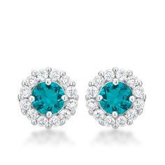 Bella Bridal Stud Earrings