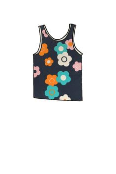 c92338203d36c Kids Tank Flower Power - last one small. Kids Tank Top Organic cotton ...