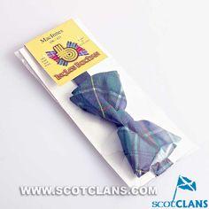 MacInnes Wool Tartan Bow tie