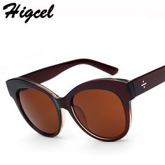 416a6d067de1 2015 Ms Retro High-End Oversized Oval Sunglasses For Women 5 Color Low  Price Travel Eyewear GLS0261