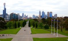 Melbourne from War Memorial - 1 of 10 Places You Must Visit In Australia - RedzAustralia