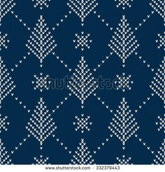 Find Winter Holiday Sweater Design Seamless Knitting stock images in HD and millions of other royalty-free stock photos, illustrations and vectors in the Shutterstock collection. Fair Isle Knitting Patterns, Knitting Charts, Knitting Stitches, Knitting Designs, Knitting Projects, Pullover Design, Sweater Design, Cross Stitch Embroidery, Cross Stitch Patterns