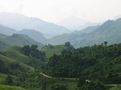 Mountains, northern Vietnam. great picture.