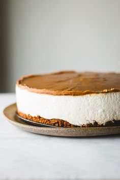 Biscoff Speculoos Cookie Butter Cheesecake