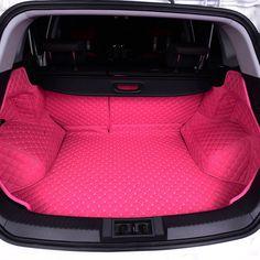 Customized Car Trunk Lining - Pink