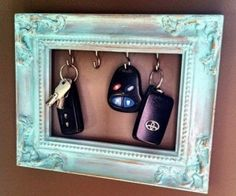 Why did I not think of this sooner.... perfect for thst small spot where all the keys get tossed on the counter!