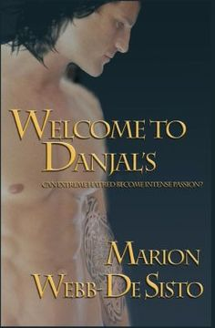 The cover for my Paranormal/Romance book - Welcome to Danjal's.