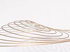 Circuconcentricos Latón (2012). Brass. 100 cm diameter. © Elias Crespin