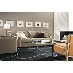 """Room & Board - Metro 88"""" Three-Cushion Guest Select Queen Sleeper Sofa"""