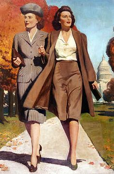 Vintage Fashion of the 1940s
