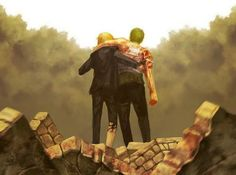 Roronoa Zoro & Sanji - they love each other <3 it may not seem like it at times but it's there.