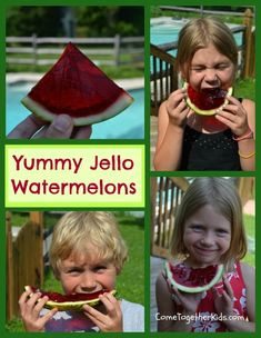 I've been wanting to make jello like this for ages now. In fact, I first bookmarked this awesome idea from Gourmet Mom on-the-go  way back ...