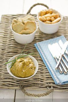 Paté de mejillones y aguacate