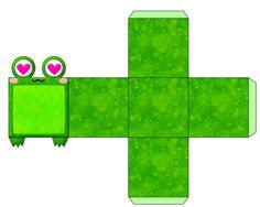 Frog Paper Crafts by xlilbabydragonx on deviantART