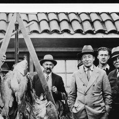 Men posing with their catch, ca.1930 :: California Historical Society Collection, 1860-1960