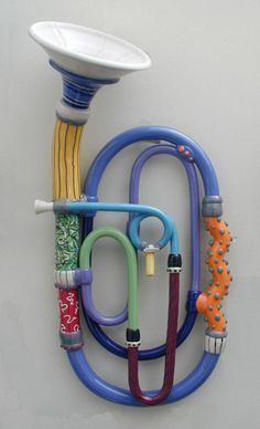 another porcelain musical instrument