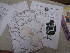Free American Girl doll clothes patterns.