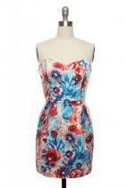 Brazen Blossoms Dress
