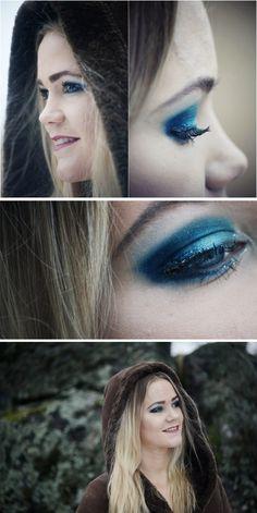 Chrismas makeup for Vasabladet