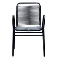 Alum. Chaise, Noir, Bloomingville