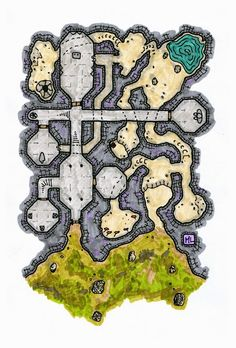 Putting your games on the map Fantasy City, Fantasy Rpg, Medieval Fantasy, Fantasy Artwork, Final Fantasy, Dwarven City, Fantasy Map Maker, Map Sketch, Dc Comics