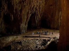 "Discover Skocjan Caves in Matavun, Slovenia: This massive subterranean fissure is known as the ""underground Grand Canyon. Rio Grande, Grand Canyon, Underground Caves, Porto Rico, Cave Tours, Australia, Future Travel, Nature Scenes, Natural Wonders"