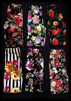 Floral Leggings by Agnes & Dora