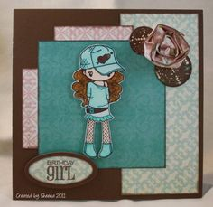Miss Anya Hats Off - PC63 - 02 by Kanatanewf - Cards and Paper Crafts at Splitcoaststampers