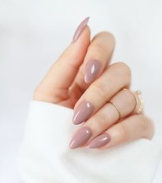 Different Short Almond Shape Nails Design For 2018 - Almond Nails Short Almond Shaped Nails, Short Almond Nails, Almond Shape Nails, Natural Almond Nails, Nails Shape, Matte Almond Nails, Oval Nails, My Nails, Pink Nails