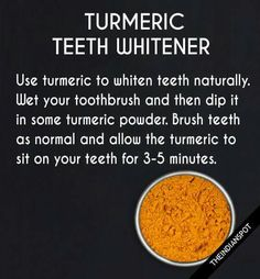 Turmeric teeth whitener *** Get a free blackhead mask, link in bio! @beautycharcoal