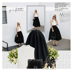 Midi Skirt Lovers by bklana on Polyvore featuring мода, Elizabeth and James, Chicwish, Dolce&Gabbana and Chanel