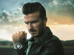 #David #Beckham #Breitling #Transocean #Chronograph