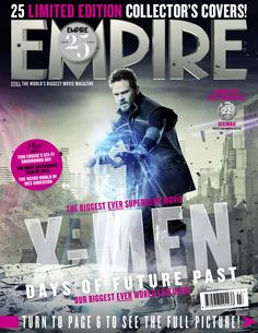 UPDATE 3: Warpath, Kitty Pryde, Sunspot, & Iceman Fill Out Empire X-MEN: DOFP Covers