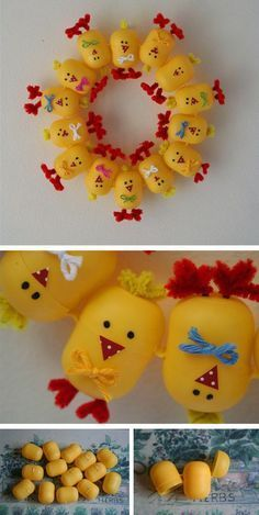 Rosely Pignataro: Reciclando embalagens de Kinder ovo