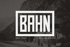 Check out Bahn Pro Regular by MARTINI Type Designer on Creative Market