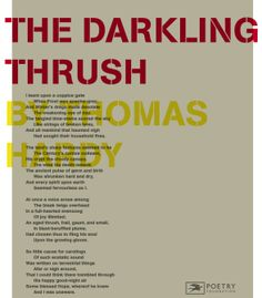 thomas hardy poem interpretation In thomas hardy's plena timoris, the title is a phrase from latin that signifies a woman full of panic and dread the poem mirrors the diffidence of a woman who has hitherto lived in a roseate world characterized only by positive vibes.