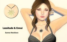 https://flic.kr/p/u4exwN | Lassitude & Ennui's new Sunna necklace @ We Love Roleplay