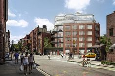 West Village Condo's Slice of Glass Divides Community