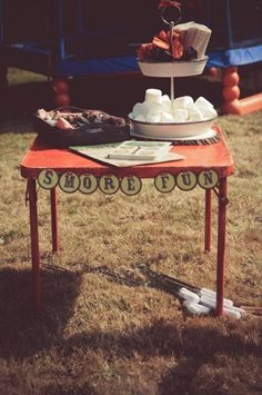 Vintage Camping Happy Trails Party