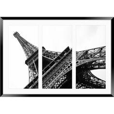 ggs room  Eiffel Tower Framed Print