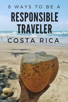 8 Ways to be a Responsible Traveler in Costa Rica - Travel for Difference - 8 Ways to be a Responsible Traveler in Costa Rica Responsible travel in Costa Rica - San Jose, Travel Guides, Travel Tips, Slow Travel, Travel Plan, Travel Advice, Living In Costa Rica, Sustainable Tourism, Sustainable Living