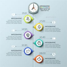 Modern Infographics Timeline Template. Download here: http://graphicriver.net/item/modern-infographics-timeline-template/15197480?ref=ksioks