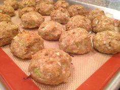 DaniGetUrGunz: Clean Eating Turkey Meatballs/Muffins
